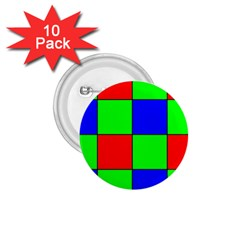 Bayer Pattern 1.75  Buttons (10 pack)