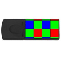 Bayer Pattern USB Flash Drive Rectangular (1 GB)