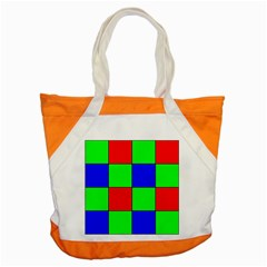 Bayer Pattern Accent Tote Bag