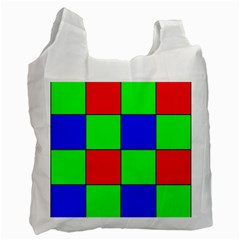 Bayer Pattern Recycle Bag (Two Side)