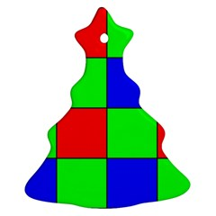 Bayer Pattern Christmas Tree Ornament (two Sides)