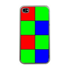 Bayer Pattern Apple iPhone 4 Case (Clear)