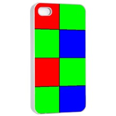 Bayer Pattern Apple iPhone 4/4s Seamless Case (White)