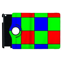 Bayer Pattern Apple iPad 2 Flip 360 Case
