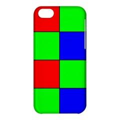 Bayer Pattern Apple iPhone 5C Hardshell Case
