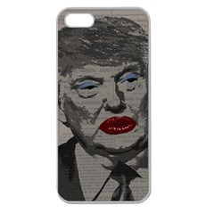 Transgender president    Apple Seamless iPhone 5 Case (Clear)