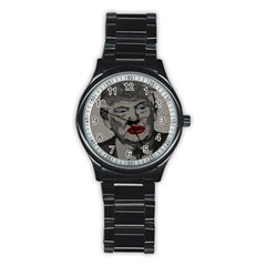 Transgender president    Stainless Steel Round Watch