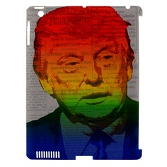 Rainbow Trump  Apple iPad 3/4 Hardshell Case (Compatible with Smart Cover)