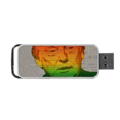 Rainbow Trump  Portable USB Flash (One Side)
