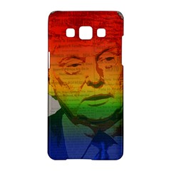 Rainbow Trump  Samsung Galaxy A5 Hardshell Case