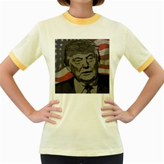 Trump Women s Fitted Ringer T-Shirts