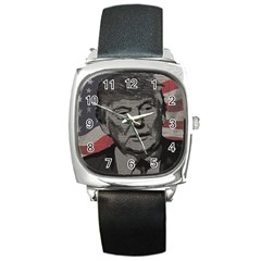 Trump Square Metal Watch