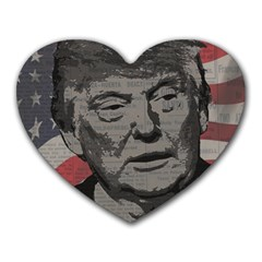Trump Heart Mousepads