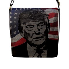 Trump Flap Messenger Bag (L)