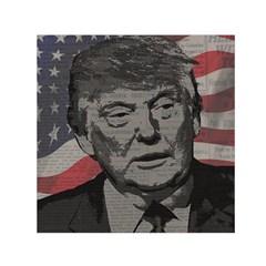 Trump Small Satin Scarf (Square)
