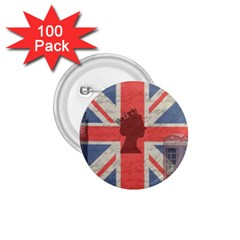 Vintage London 1.75  Buttons (100 pack)