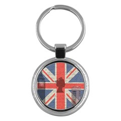 Vintage London Key Chains (Round)