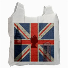 Vintage London Recycle Bag (Two Side)