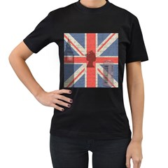 Vintage London Women s T-Shirt (Black)