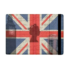Vintage London Apple iPad Mini Flip Case
