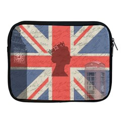 Vintage London Apple iPad 2/3/4 Zipper Cases
