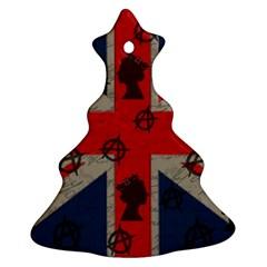United Kingdom  Christmas Tree Ornament (Two Sides)
