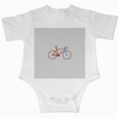 Bicycle Sports Drawing Minimalism Infant Creepers