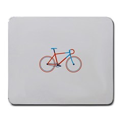 Bicycle Sports Drawing Minimalism Large Mousepads