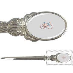 Bicycle Sports Drawing Minimalism Letter Openers