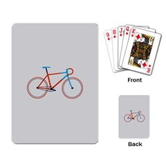 Bicycle Sports Drawing Minimalism Playing Card