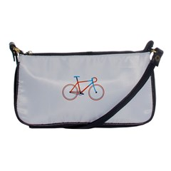 Bicycle Sports Drawing Minimalism Shoulder Clutch Bags