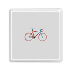 Bicycle Sports Drawing Minimalism Memory Card Reader (square)