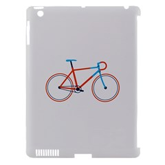 Bicycle Sports Drawing Minimalism Apple iPad 3/4 Hardshell Case (Compatible with Smart Cover)