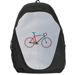 Bicycle Sports Drawing Minimalism Backpack Bag