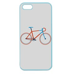 Bicycle Sports Drawing Minimalism Apple Seamless iPhone 5 Case (Color)