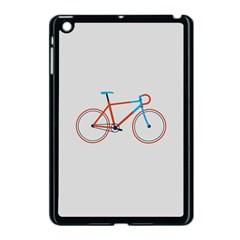 Bicycle Sports Drawing Minimalism Apple iPad Mini Case (Black)