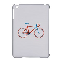 Bicycle Sports Drawing Minimalism Apple iPad Mini Hardshell Case (Compatible with Smart Cover)