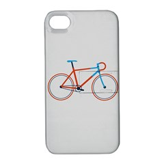 Bicycle Sports Drawing Minimalism Apple Iphone 4/4s Hardshell Case With Stand