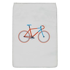 Bicycle Sports Drawing Minimalism Flap Covers (S)