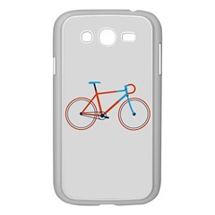 Bicycle Sports Drawing Minimalism Samsung Galaxy Grand DUOS I9082 Case (White)
