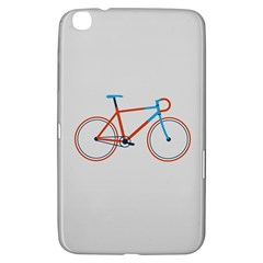 Bicycle Sports Drawing Minimalism Samsung Galaxy Tab 3 (8 ) T3100 Hardshell Case