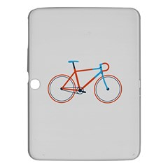 Bicycle Sports Drawing Minimalism Samsung Galaxy Tab 3 (10.1 ) P5200 Hardshell Case