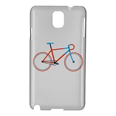 Bicycle Sports Drawing Minimalism Samsung Galaxy Note 3 N9005 Hardshell Case