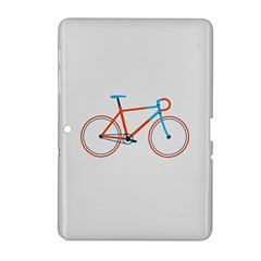 Bicycle Sports Drawing Minimalism Samsung Galaxy Tab 2 (10.1 ) P5100 Hardshell Case