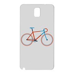 Bicycle Sports Drawing Minimalism Samsung Galaxy Note 3 N9005 Hardshell Back Case