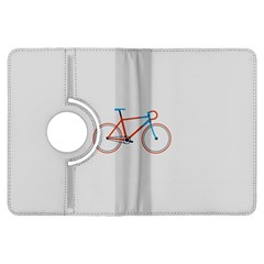 Bicycle Sports Drawing Minimalism Kindle Fire HDX Flip 360 Case