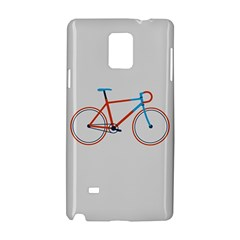 Bicycle Sports Drawing Minimalism Samsung Galaxy Note 4 Hardshell Case