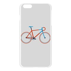 Bicycle Sports Drawing Minimalism Apple Seamless iPhone 6 Plus/6S Plus Case (Transparent)