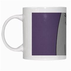 Cat Minimalism Art Vector White Mugs