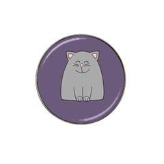 Cat Minimalism Art Vector Hat Clip Ball Marker (10 Pack)